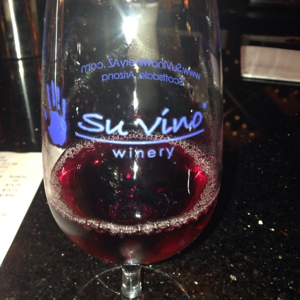 Photo taken at Su Vino Winery by Monica M. on 10/19/2013