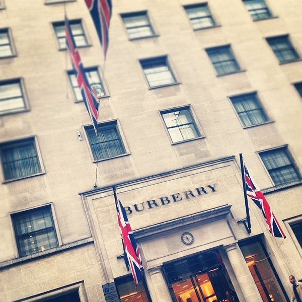 Photo taken at Burberry by Mariano H. on 9/22/2012