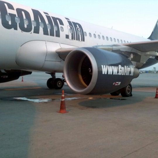 Photo taken at Dabolim Goa International Airport (GOI) by Schmmuck on 9/15/2012
