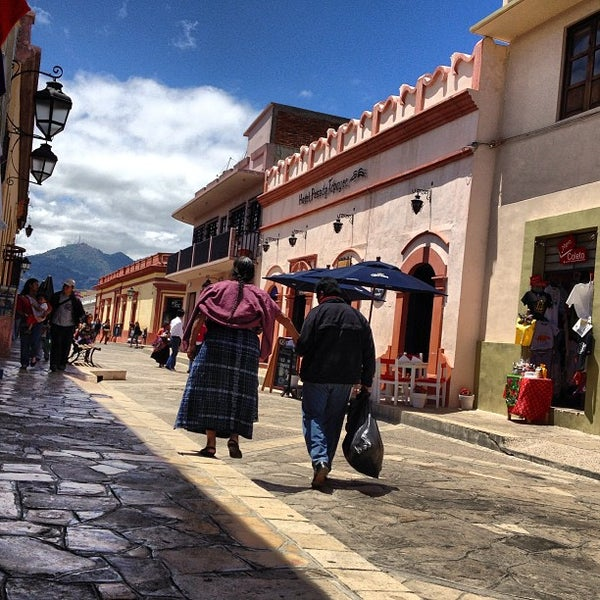 Photo taken at Andador Real de Guadalupe by Ban d. on 3/27/2013