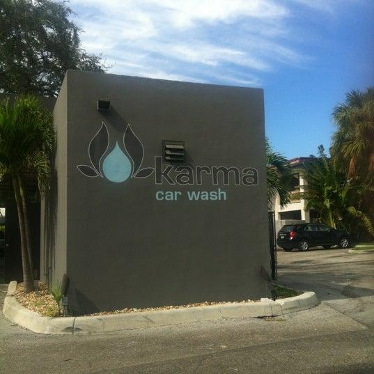Photo taken at Karma Car Wash by Pete on 11/6/2012