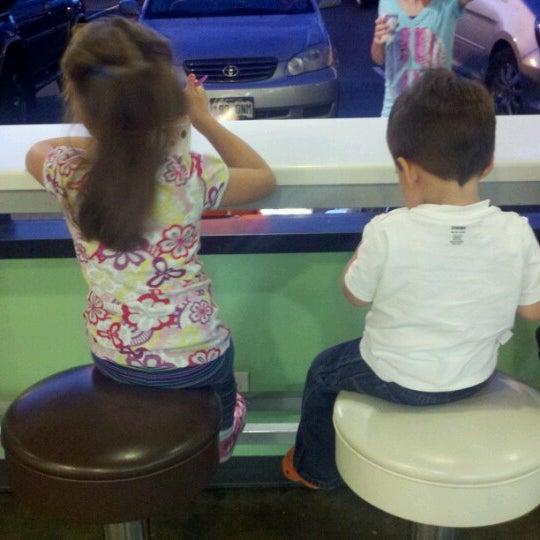 Photo taken at Smart Cow Yogurt Bar by Gabe A. on 9/30/2012