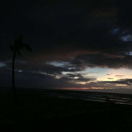 Photo taken at Maili Beach by Roxanne K. on 1/2/2013