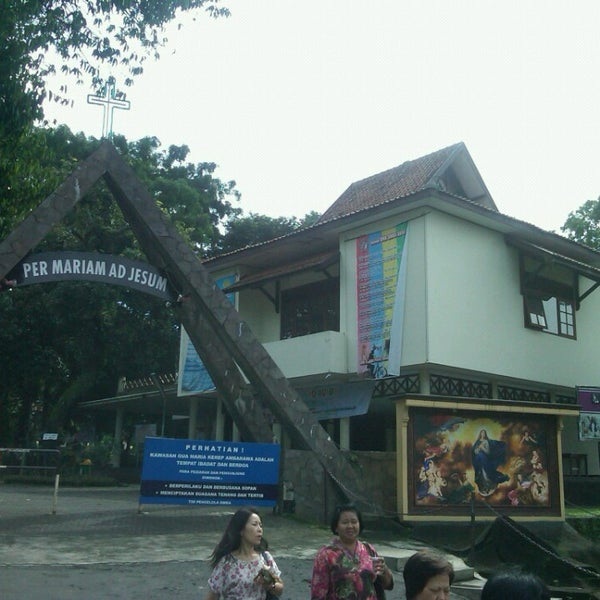 Photo taken at Gua Maria Kerep by Cahyo O. on 5/17/2013