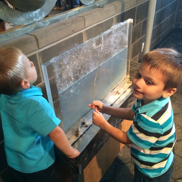 Photo taken at Long Island Children's Museum by Melissa on 7/29/2014