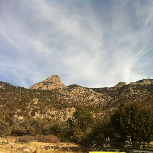 Photo taken at La Luz Trailhead by Navin R. on 11/22/2012