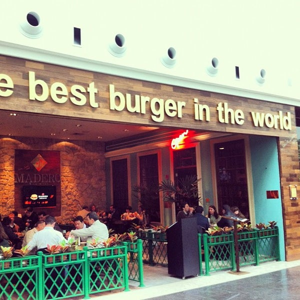 Photo taken at Madero Burger & Grill by Paul O. on 9/28/2012