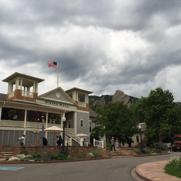 Photo taken at Colorado Chautauqua National Historic Landmark by ian t. on 6/13/2015