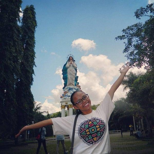 Photo taken at Gua Maria Kerep by Andrean Novita P. on 5/1/2016