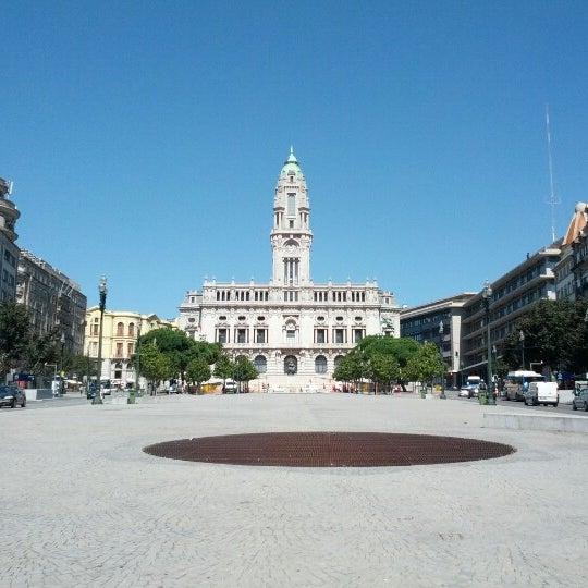 Photo taken at Avenida dos Aliados by Jorge F. on 9/15/2012