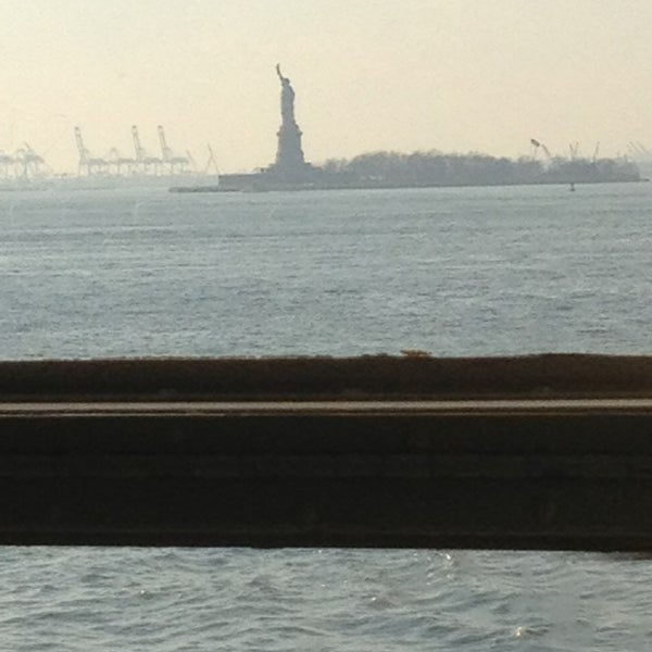 Photo taken at Staten Island Ferry Boat - Guy V. Molinari by Jeff L. on 2/15/2013