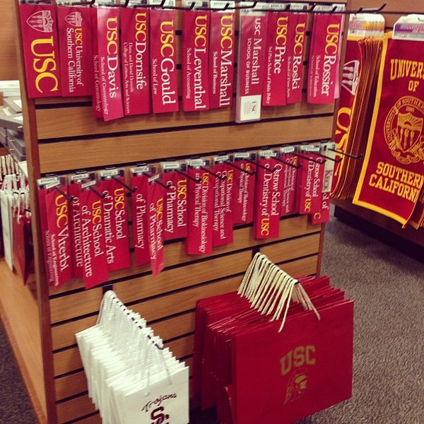 Photo taken at USC Bookstore (BKS) by Ahmad A. on 2/24/2013