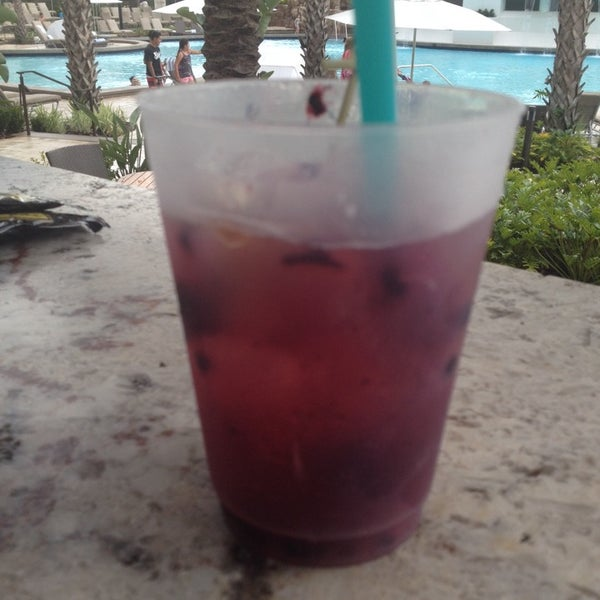 Photo taken at Marriott World Center Pool by Pam D. on 12/5/2014