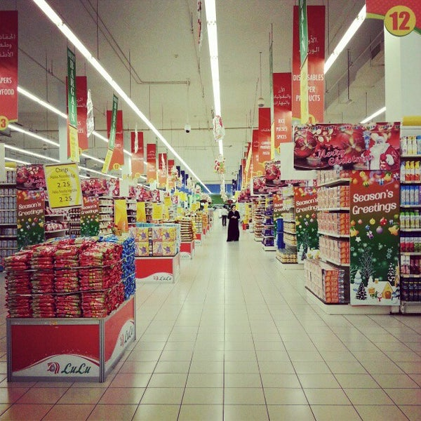 Photo taken at Lulu Hypermarket مركز اللولو by Joanah U. on 12/26/2012