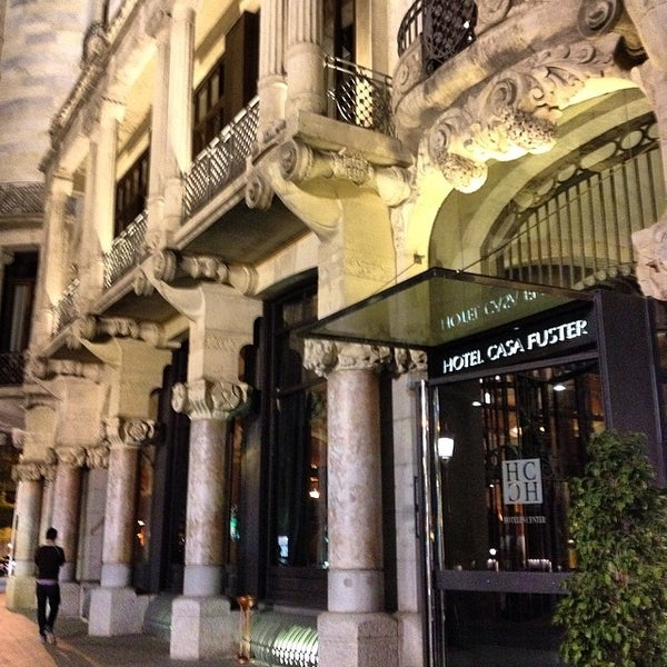 Photo taken at Hotel Casa Fuster by Pepe A. on 3/12/2014
