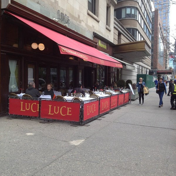 Photo taken at Luce Restaurant & Enoteca by Carmen-Elizabeth G. on 4/16/2015