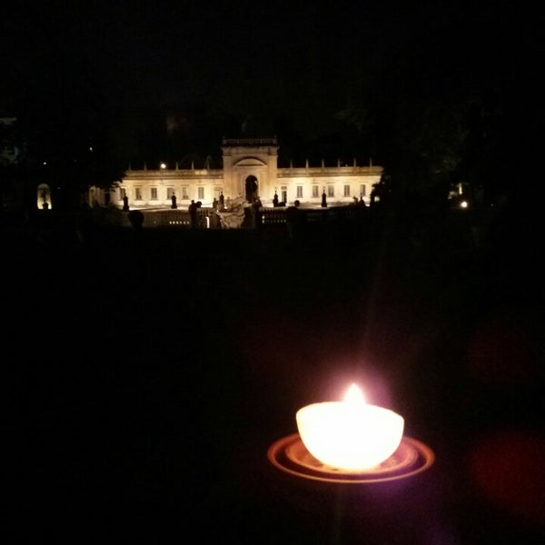 Photo taken at Villa Visconti Borromeo Litta by Arianna M. on 6/7/2014