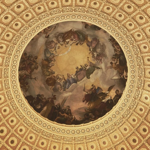 Photo taken at Rotunda of the U.S. Capitol by Pasha R. on 11/19/2016