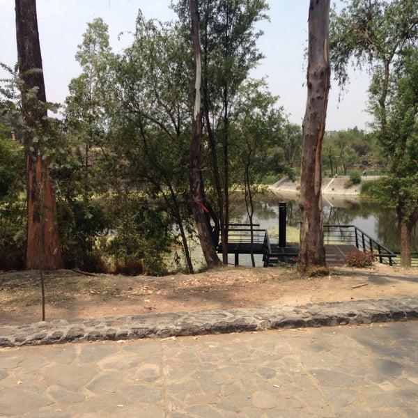 Photo taken at Parque Ecologico Huayamilpas by JOLUMO on 4/17/2016