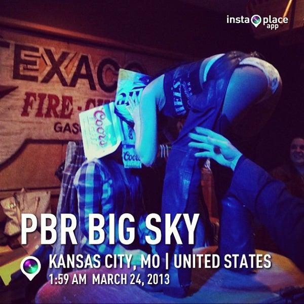 Photo taken at PBR Big Sky by DJ Soap on 3/24/2013