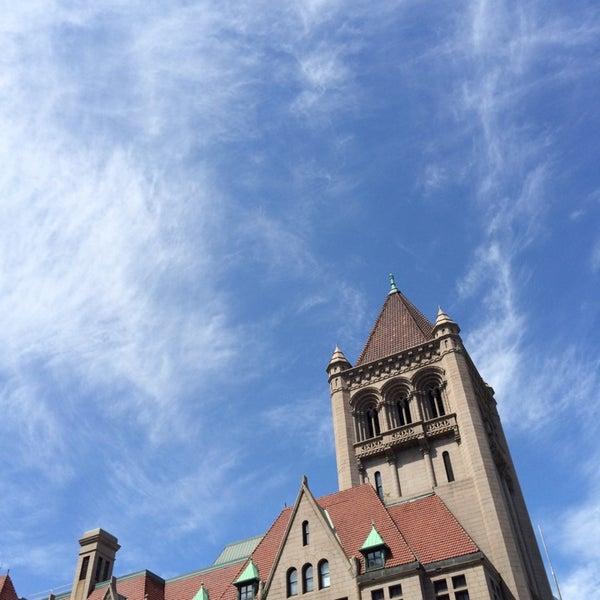 Photo taken at Landmark Plaza by Tom H. on 6/17/2014