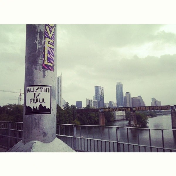 Photo taken at Lady Bird Lake Trail by Susie S. on 4/13/2014