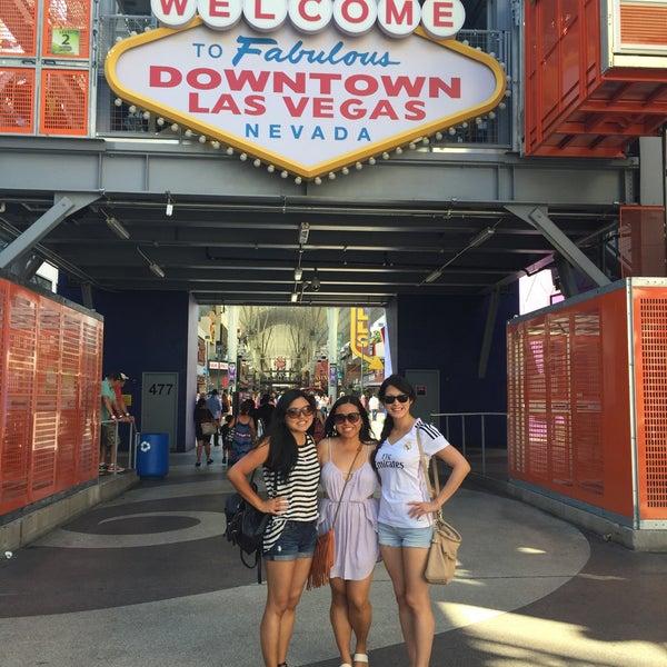 Photo taken at Downtown Las Vegas by Christine C. on 8/23/2015