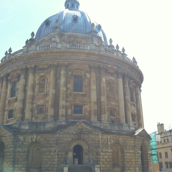 Photo taken at Radcliffe Camera by Glynn on 5/26/2013