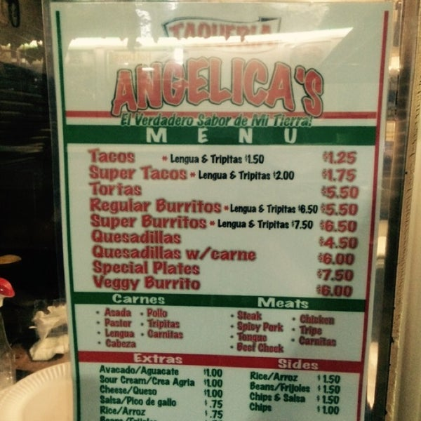 Photo taken at Angelica's Taqueria Taco Truck by Jared S. on 10/6/2014