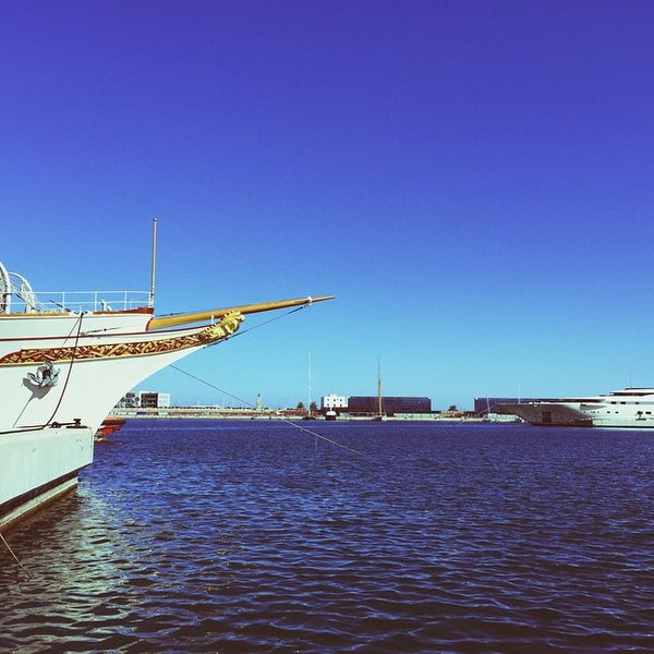 Photo taken at Port de Tarragona by Albert F. on 4/4/2015