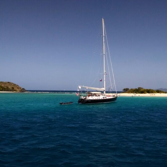 Photo taken at Jost Van Dyke Island by Mackenzie W. on 3/6/2014