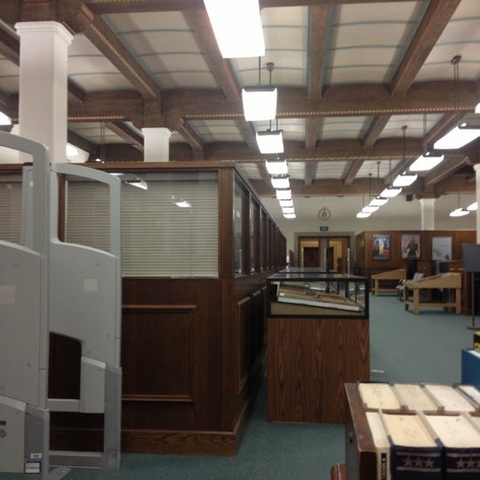 Photo taken at Doheny Memorial Library (DML) by Lisa D. on 10/11/2012