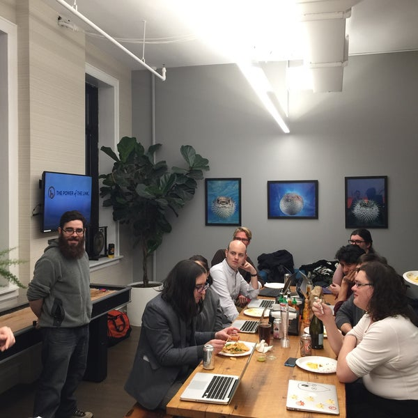 Photo taken at Bitly HQ by Sean O. on 1/20/2016