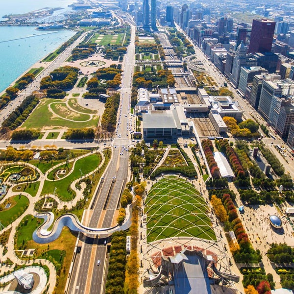 Photo taken at Aon Center by Gana R. on 10/19/2015