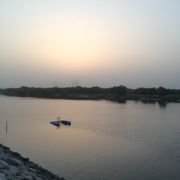 Photo taken at Eastern Mangroves Corniche by IBRAHEEM on 6/3/2013