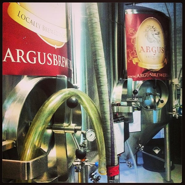 Photo taken at Argus Brewery by Brittney B. on 3/9/2013