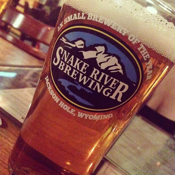 Photo taken at Snake River Brewery & Restaurant by Eric W. on 6/25/2014
