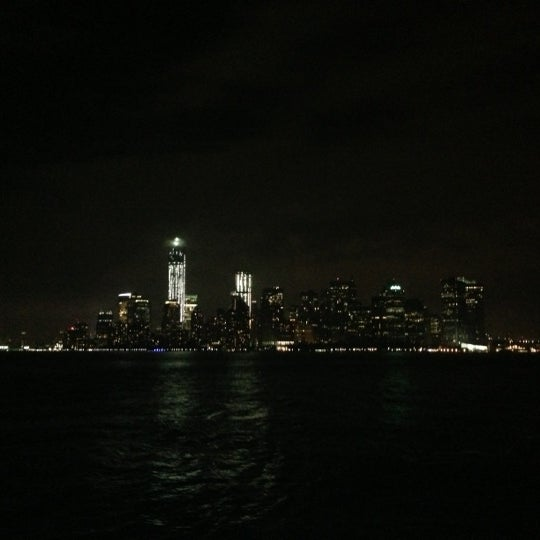 Photo taken at New York Harbor by Tab on 10/20/2012