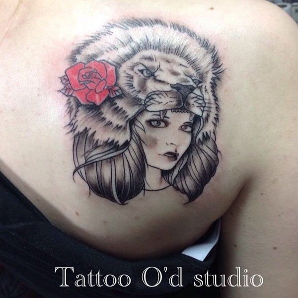 Photo taken at Tattoo O'd studio by Boho M. on 7/10/2014