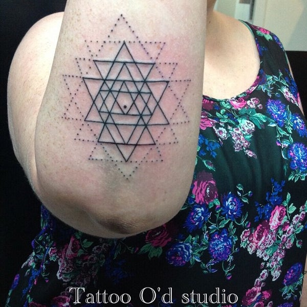 Photo taken at Tattoo O'd studio by Boho M. on 4/7/2015