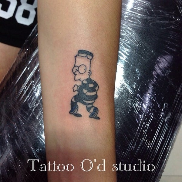 Photo taken at Tattoo O'd studio by Boho M. on 7/1/2014