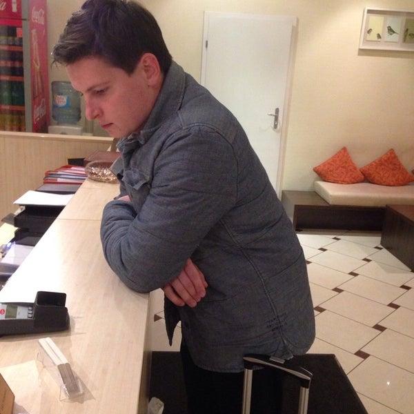Photo taken at Comfort Hotel Vilnius by Alex L. on 11/8/2014