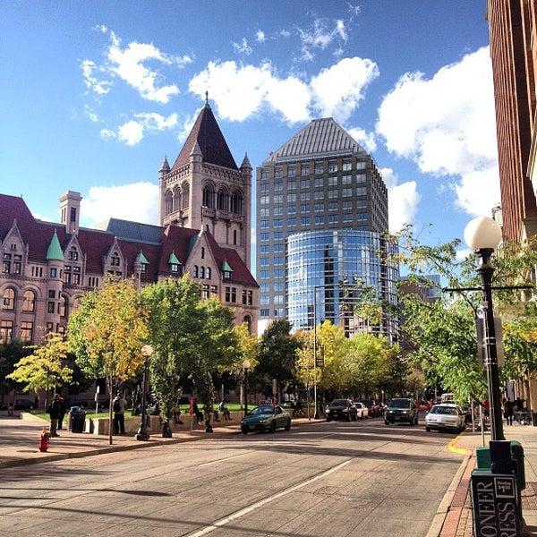 Photo taken at Landmark Plaza by Taylor N. on 9/19/2012