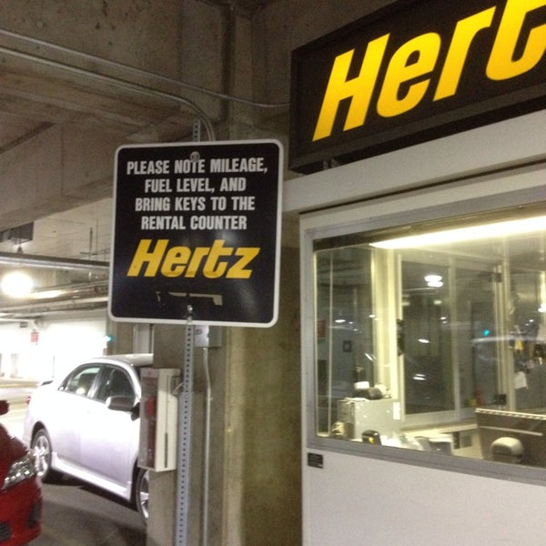 Hertz car rental denver international airport address