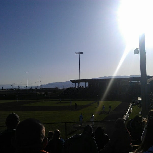 Photo taken at Brent Brown Ballpark by Dave W. on 5/1/2013