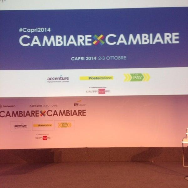 Iniziamo CambiareXCambiare a #Capri2014