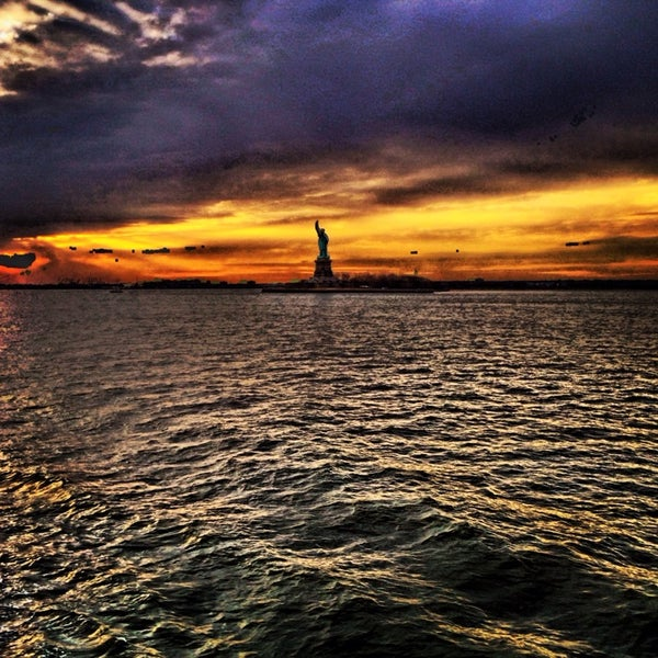 Photo taken at New York Harbor by Jeffrey P. on 3/1/2014
