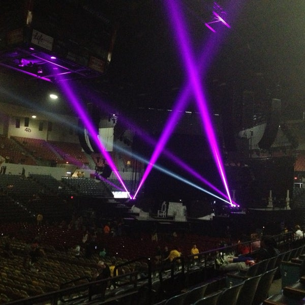 Photo taken at Valley View Casino Center by Jocelyn O. on 4/12/2013