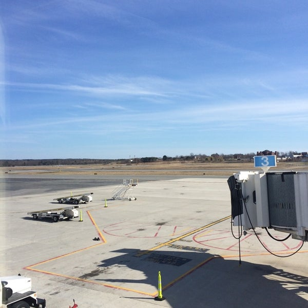 Photo taken at Portland International Jetport (PWM) by Grose M. on 4/20/2014