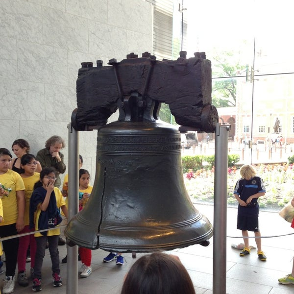 Photo taken at Liberty Bell Center by Alyson M. on 6/11/2013